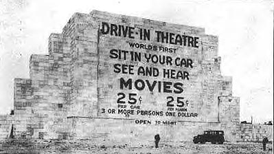 Image result for the first drive in movie theater opened in camden new jersey